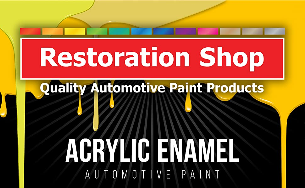 Quart Paint Only-Professional Single Stage High Gloss Automotive Car Truck Equipment Coating 2.8 VOC
