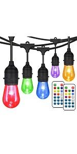 RGB string lights