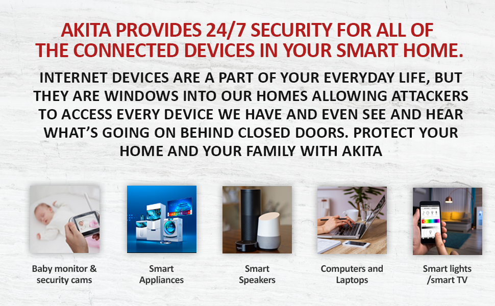 akita provides 24/7 security for all the connected devices in your smart home
