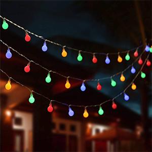 camping string lights