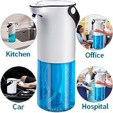 automatic sensor touchless soap dispenser machine for bathroom sanitizer disinfectant handwash  home