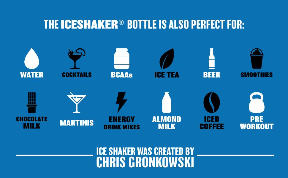 iceshaker, iceshaker bottle, pre workout bottle, waterbottle, water bottle