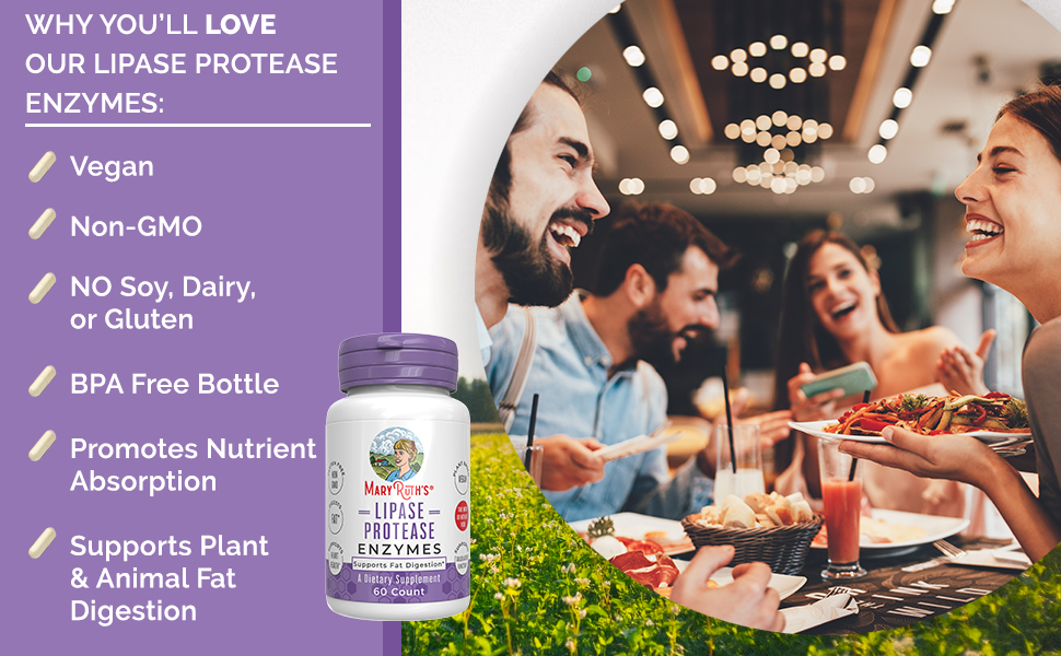 lipase enzyme digestive enzymes fat supplement digestion keto digest weight loss supplement maryruth