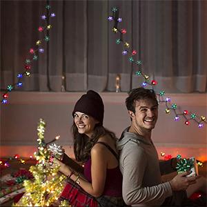 Christmas solar fairy light