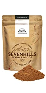 sevenhills wholefoods organic cacao powder