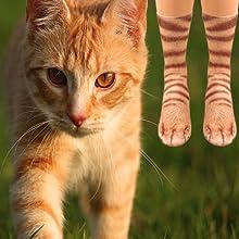 cat animal socks