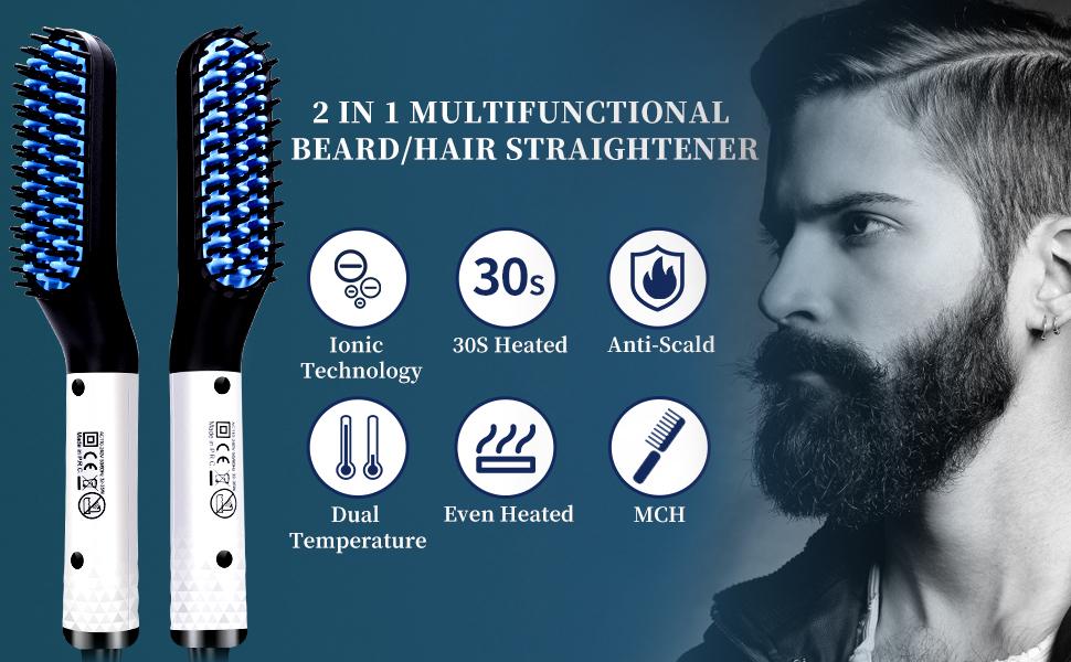DONNIEBARBER Beard /Hair Straightener DB-2460 beard straightener