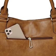 anti-theft hobo bag