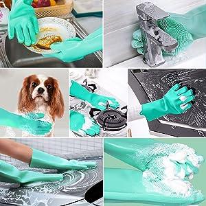 gloves dish washing