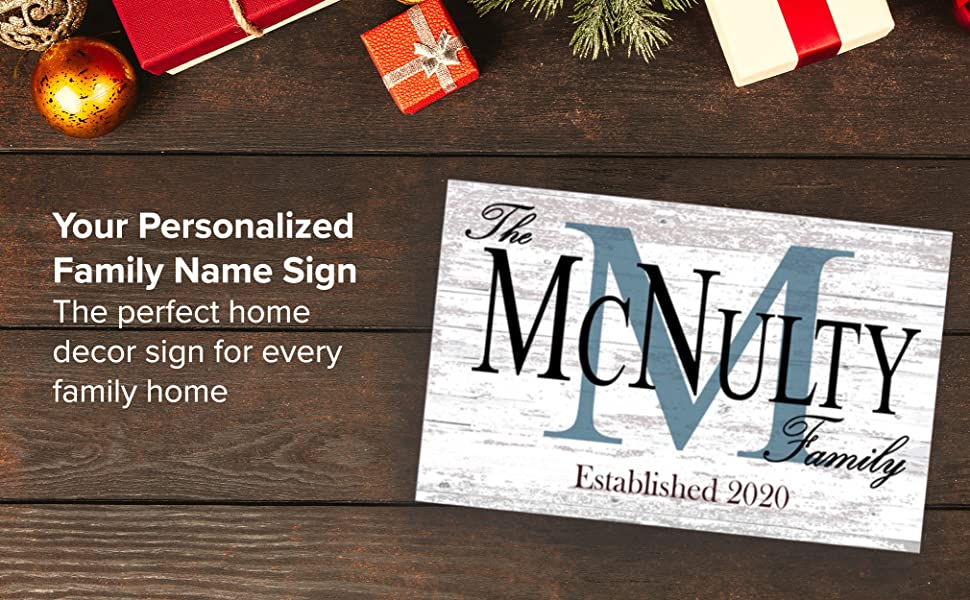 family, name, sign, home, decor, wall, hang, hanging, shelf, personalized, wood, solid wood