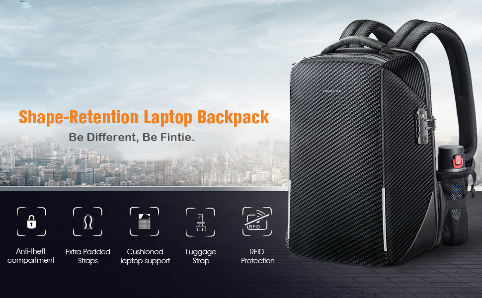 travel business school laptop backpack