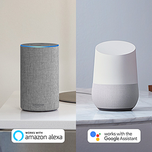 Compatible with alexa google home