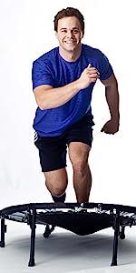 HIIT Rebounder Mini Trampoline Urban Fitness sporting performance plyometric jump training gym