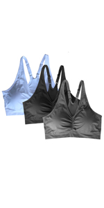 Adlustable straps bras