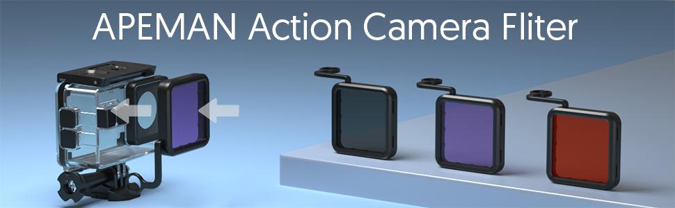action camera filter