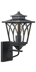 Outdoor Wall Mounted Light Fixtures Sconces One-Light