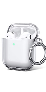 airpods case clear cover airpod 2 cover see through shockproof case for airpods 1 2