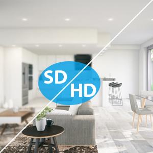 1080P home security camera