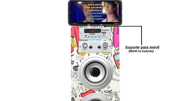 Altavoz Bluetooth con micrófonos