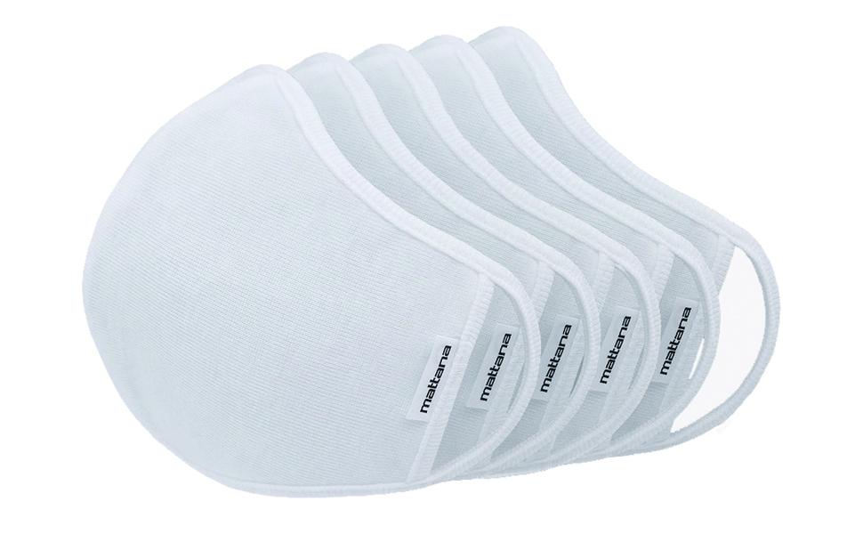 5 Pack White