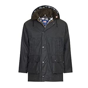 Nicky Adams Countrywear Waterproof Wax Jacket Coat Hunting Shooting Fishing Riding Waxed Cotton