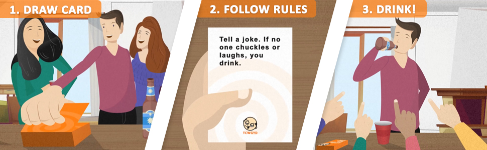 these cards will get you drunk how to play