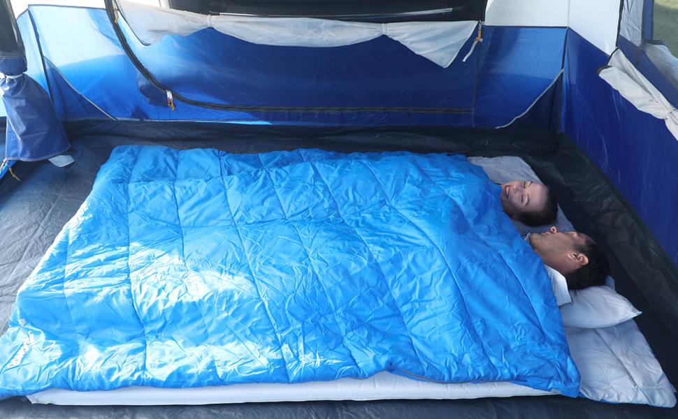 double adult sleeping bag