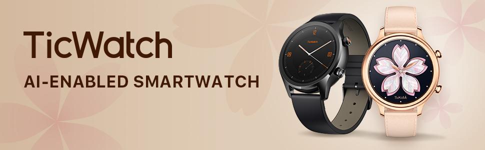 Ticwatch Reloj Inteligente y clásico Mobvoi C2 con Sistema ...