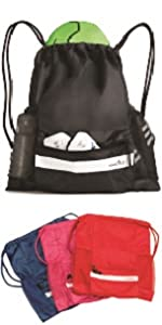 Athletico Drawstring Soccer Backpack