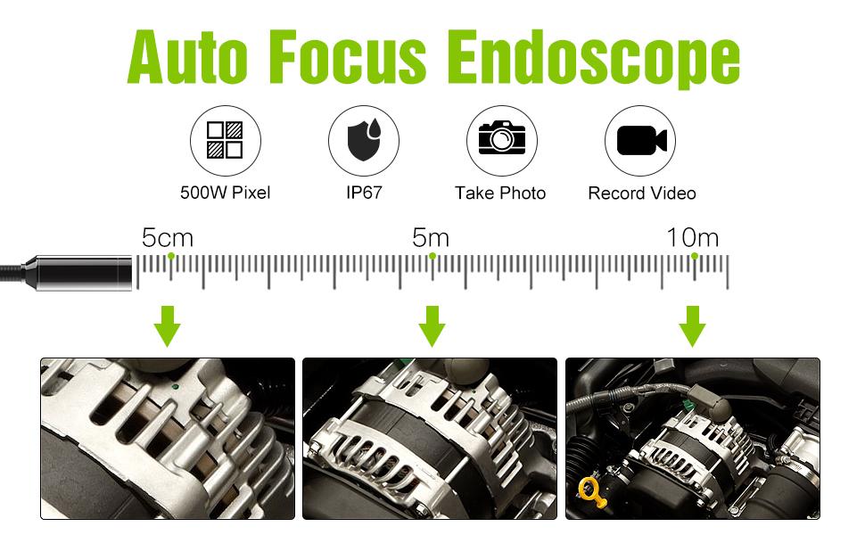 autofocus endoscope