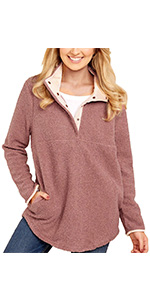 Amazon.com: GRAPENT Womens Casual Loose Roll-up Sleeve