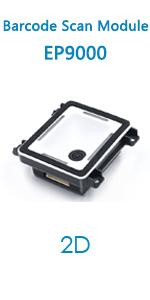 EP9000 barcode scanner module