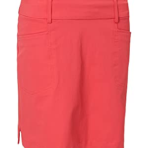 Breathable Stretchable Drycool Wicking Ladies Golf Skorts with Pocket