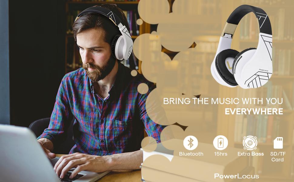 Bluetooth-Kopfhörer Drahtlose Kopfhörer Qualität Over Ear Kopfhörer faltbar wireless unter 25 TV