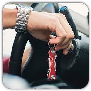 car keys and fobs organizer