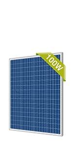 newpowa 100w solar panel poly