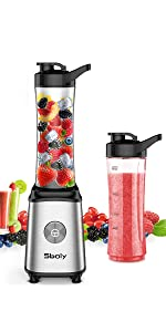 Amazon.com: Personal Blender, Sboly Smoothie Blender Single ...