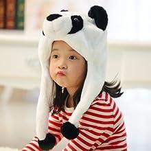 Short animal hat