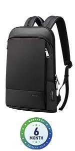slim backpack college waterproof backpack 15.6 travel backpack men office backpack work business