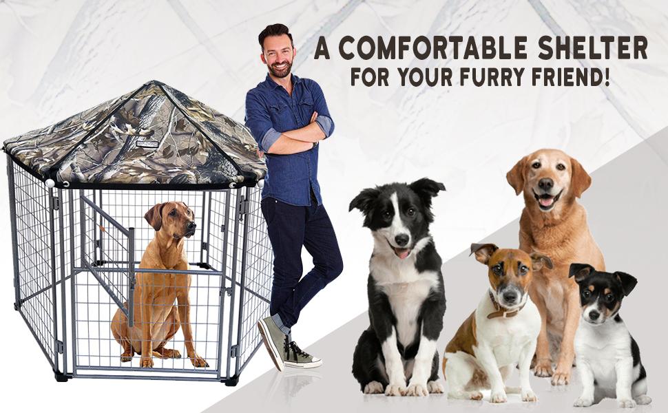 Neocraft My Pet Companion Outdoor Dog Kennel