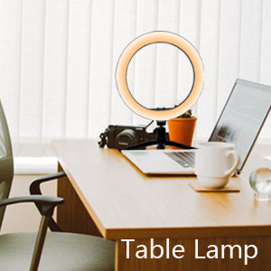 table top ring light