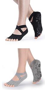 Toeless Pliates Socks for Women