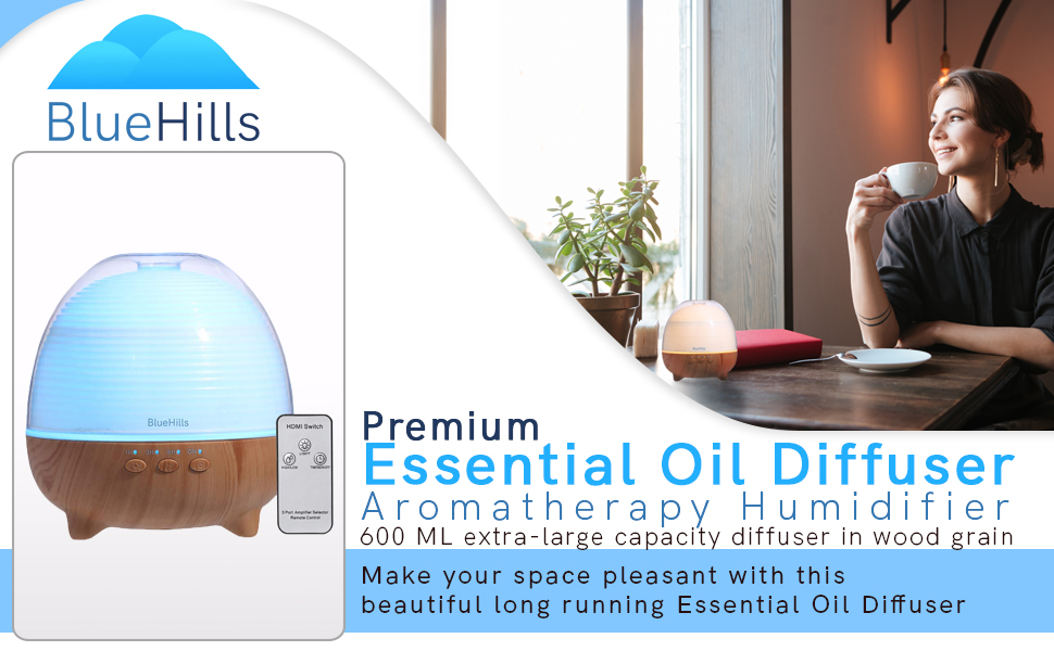 Essential Oil Diffuser 1000ml