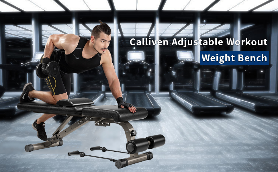 KFK adjustable workout bench