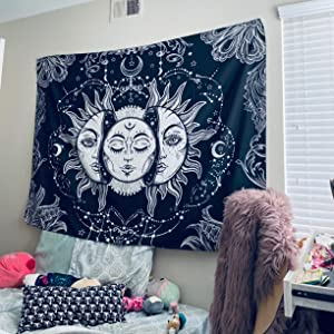 Sun with Star Tapestry