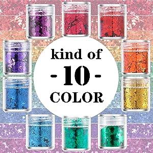 kind of 10 color