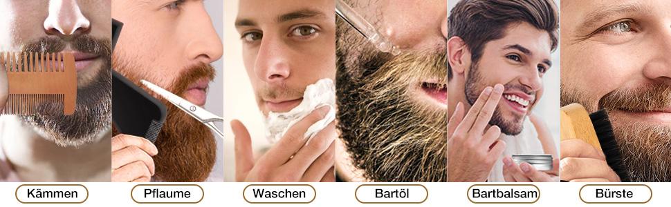 Bartpflege Set Geschenkset bartpflege set