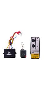 Amazon Com Liebmaya Wireless Winch Remote Control Kit For Truck Jeep Atv Suv 12v Switch Handset Home Improvement