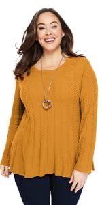Fit and Flare Sweater