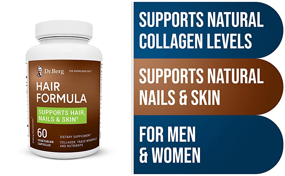 Dr Berg Hair Formula Supplement